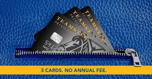Teamster Privilege Credit Card feature